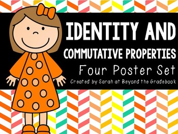 Identity and Commutative Properties Posters
