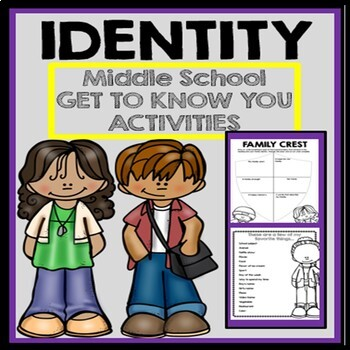 Identity for Middle School