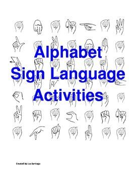 Identity letter in ASL