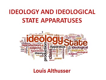 Ideology and Ideological State Apparatuses - Louis Althusser's main ideas