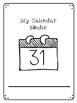 Idependent Work Binder: Calendar Work