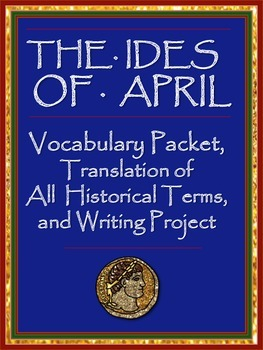 Ides of April Vocabulary Packet