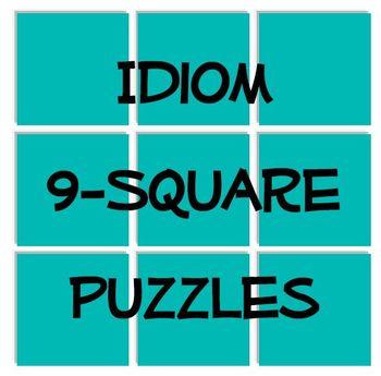 Idiom 9-Square Puzzles
