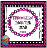 Idiom Activities with Boom Cards   Distance Learning