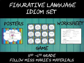 Idiom Activity Set