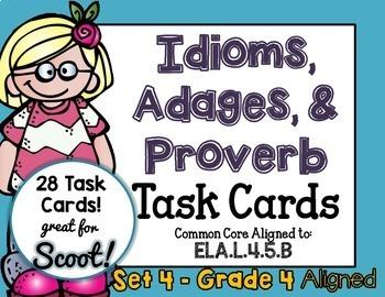 Idiom, Adage, and Proverbs Set 4