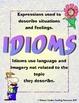 Idiom Anchor Chart & 60 Idiom Displays