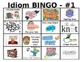IDIOM BINGO!: 30 cards for FUN figurative language practice