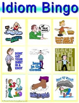 Idiom Bingo