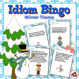 Idiom Bingo with a Winter Theme