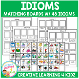 Idioms Matching Boards