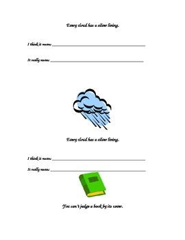 Idiom Booklet