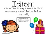 Idiom Poster and Booklet