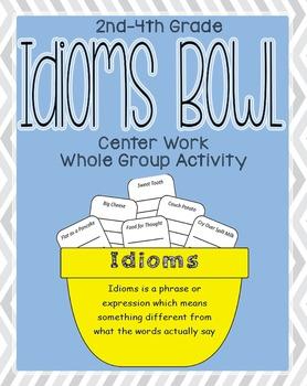Idiom Bowl Language Arts