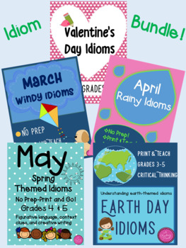 Idiom Bundle--Five Lessons--big savings!