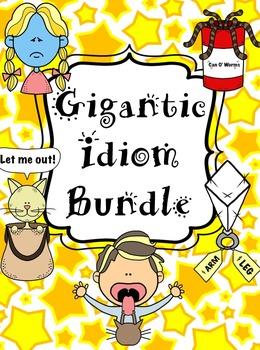 Idiom Bundle--Games, centers, memory, bingo