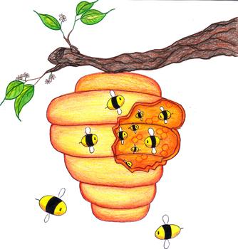Idiom - Busy as a Bee - Figurative Language
