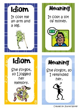 Idiom Games For Kids