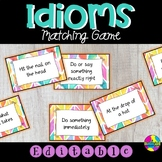 Idiom Card Matching Game