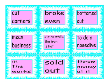 Idiom Cards 2