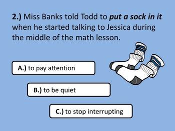 Idiom Challenge (PowerPoint Version)