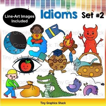 Idiom Clip Art Set 2