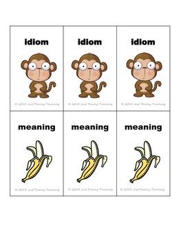 Idiom Concentration- Animal Edition