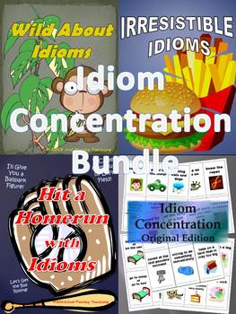 Idiom Concentration- **BUNDLE PACK**