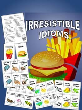 Idiom Concentration- Edible Edition