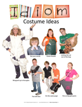 Idiom Costume Ideas: Middle School
