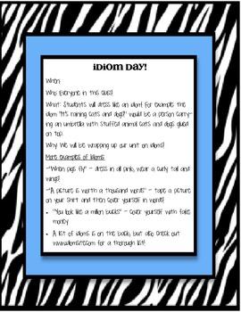 Idiom Day
