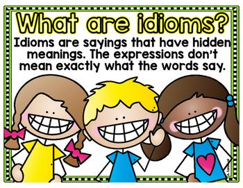 Idiom Display Cards