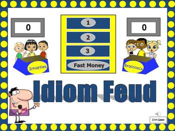 Idiom Feud Powerpoint Game