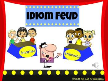 Idiom Feud Powerpoint Game