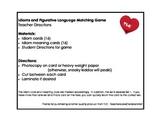 Idiom & Figurative Language Match Game Set 1