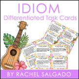 Figurative Language: Idiom Task Cards