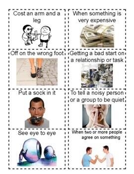 Idiom Flashcards