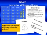 Idiom Game version 1  - for interactive white boards