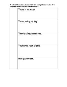 Idiom Interactive Notebook