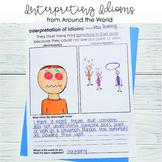 Idiom Interpretation Illustrations from Around the World