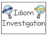Idiom Investigation