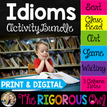 Idioms Activities | Print & Digital | Distance Learning