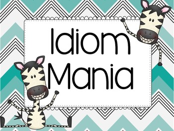#2fortuesday Idiom Mania