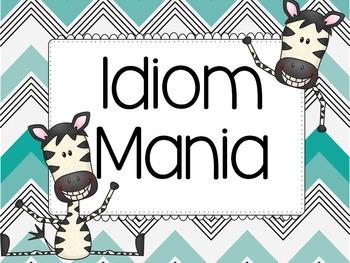 Idiom Mania {Mini Unit}