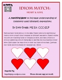 Idiom Match: Heart and Soul for Valentine's Day