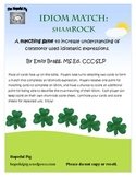 Idiom Match: ShamROCK for St. Patrick's Day