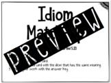 Idiom Match-Up