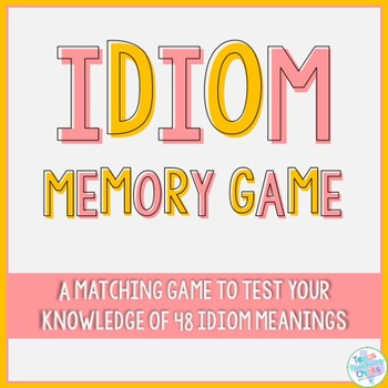 Idiom Matching