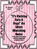 Idiom Matching Game & Activities