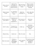 Idiom Memory Game